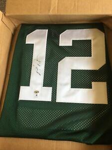 Aaron Rogers/Signed Green Bay Packers on Field Reebok Jersey Sports Memorabilia