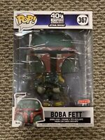 "Boba Fett 10"" Funko Pop Target Exclusive Star Wars Empire Strikes Back 40th"