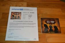 "ZZ Top "" La Futura "" Autographed CD with AUTOGRAPH LOA ~ Billy / Dusty / Frank"