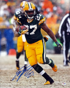 EDDIE LACY AUTOGRAPHED SIGNED 16X20 PHOTO GREEN BAY PACKERS PSA/DNA 91394