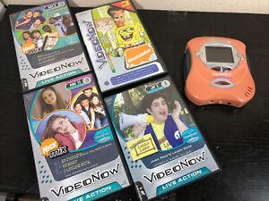 2004 Video Now Color player Hasbro - Nick Mix, Spongebob, Jimmy Nuetron