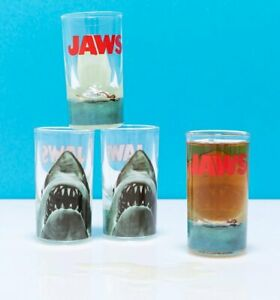 Official Jaws Set of Four Shot Glasses