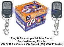 ZV Funk Fernbedienung VW Golf 3 Vento  Cabrio Passat 35i Polo 6N Neu
