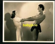 GLENN MORRIS ELEANOR HOLM VINTAGE 8X10 PHOTO 1938 TARZAN'S REVENGE BEEFCAKE