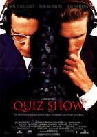 Quiz Show ORIGINAL A1 Kinoplakat Robert Redford / Ralph Fiennes / John Turturro