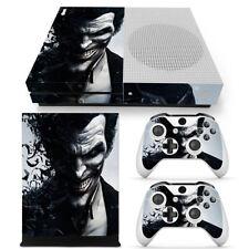 Xbox One S Console Skin Decal Sticker The Joker + 2 Controller Custom Design Set