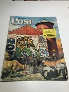 August 4, 1945 THE SATURDAY EVENING POST MAGAZINE