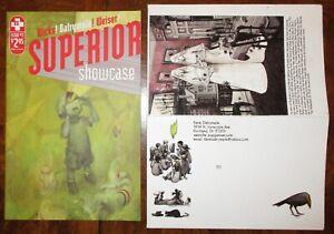 Superior Showcase #2 Adhouse James Jean Cover Farel Dalrymple 2007