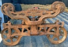 Myers OK Hay Trolley Unloader Vintage Farm Collectible