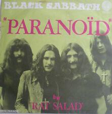 "7"" 1970 FRENCH PRESS RARE VG+! BLACK SABBATH : Paranoid"