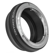FOTGA Konica AR Lens to E-Mount Adapter for Sony NEX3 NEX5 5N 5R 5C NEX7 NEX-C3