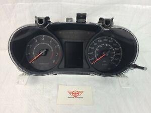 2017 Mitsubishi Lancer 2.0L Speedometer Gauges Cluster ES Sedan KPH OEM