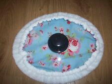 Slow cooker 3.5/4.5L Cath Kidston pattern & towell cover oval lid 11.5 x 9 inch
