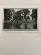 Photo 1924: Farm Near Wigton Cumberland Denbigh Castle Rock Hill 96 Yrs Print