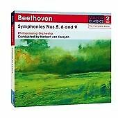 Beethoven: Symphonies No.s 5, 6 and 9 [Double CD], Philharmonia Orchestra CD | 5