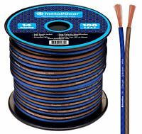 INSTALLGEAR 100ft 14-GAUGE AWG SPEAKER WIRE CAR HOME AUDIO CABLE TRUE SPEC NEW