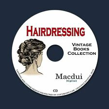 Hairdressing Vintage Books Collection 12 PDF E-Books on 1 CD Dressing Hair,Curls