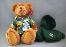 Ritz Camera Center Teddy Bear Hawaiian Shirt Plus Green Hoodie Russ Berrie Tags