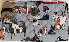 Vera Bradley Best In Show Puppy Dog Print Iconic RFID Turnlock Wallet New