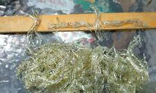 "240  piece bulk lot "" double skirted skirt hollow Tube bait Plastic Lure Worm"