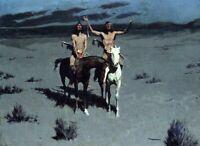 Frederick Remington American Natives Horsemen Fine Art Giclee Repro Print Small