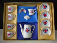 Ancienne dinette porcelaine service à café / jouet miniature poupée