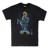 Final Fantasy X Tidus T-Shirt Ink Effect Adults T Shirt