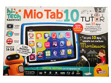 "Lisciani Mio Tab 10"" tablet bambini App educative Tutor Android 16GB WiFi 71982"
