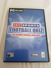 Sky Sports Football Quiz-PC CD-ROM Spiel