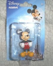 """Disney Character Mickey Mouse 1"""" W x 2"""" T in Red Shorts, White Gloves"""