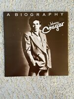 Johnny Cougar* ‎– A Biography (Vinyl, UK, 1978)
