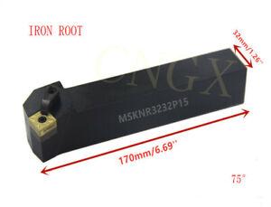 5p MSKNR3232P15 CNC Lathe Turning Tool Holder For SNMG1504 Insert