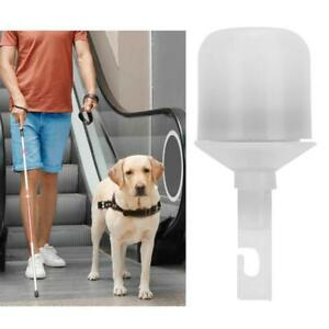 Electric Cane Tip with Light Replacement Accessory for Blind Walking Cane Stick