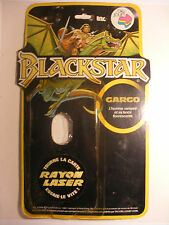 Galoob FILMATION BLACKSTAR Empty Blister Card ORLI JOUET FRANCE CARGO