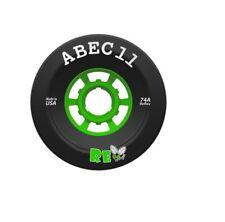 ABEC 11 Reflywheels Set Black 97mm/74a
