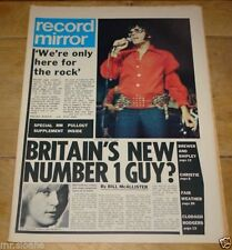 April Record Mirror Music, Dance & Theatre Magazines