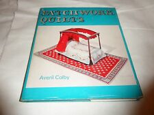 PATCHWORK QUILTS AVENI COLBY HARDBACK   1965