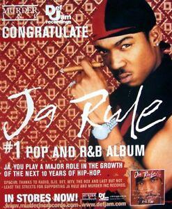 JA RULE 2000 promo Advert RULE 3:36