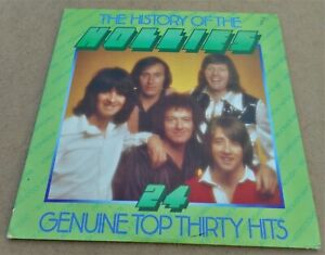 The History of The Hollies: 24 Genuine Top Thirty Hits EMI EMSP 650 LP Gatefold