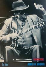 John Lee Hooker The Blues 1996 Vintage Jazz Poster 24 x 34