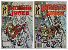 Hand Painted Signed Comic Book Cover Art Color Guide Indiana Jones #16 Comics