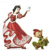 Disney Haute Couture Statue Blanche Neige et Dopey