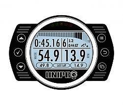 Unipro Unigo 7006 Data Logger With GPS Timing Karting