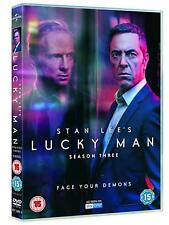 STAN LEE'S - LUCKY MAN 3 (2018) British drama TV Season Series NEW R2 DVD not US