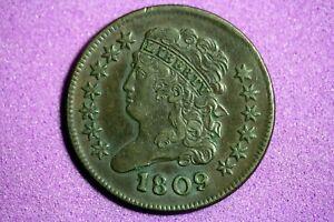 ESTATE FIND 1809 Classic Head Half Cent #M6068