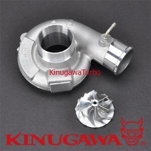 Kinugawa Turbo Compressor Housing /19T Billet Wheel Upgrade For SUBARU TD04L-13T