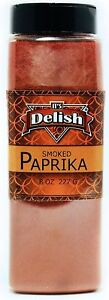 Gourmet Smoked Paprika by Its Delish, 19 Oz. Large Jar