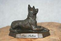 Bronze sculpture Alsation 'Our Sabre'