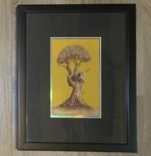 2009 Grateful Dead Peace Tree - Custom Framed Foil Variant Handbill s/n by Emek