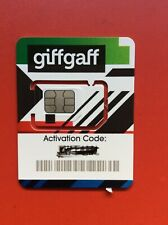giffgaff giff gaff SIM Card - O2 Network -  FREE £5 Credit with first top up